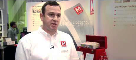 David Armstrong, marketing director at M Squared Lasers.
