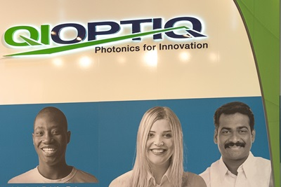 Qioptiq booth at Laser 2013 trade show