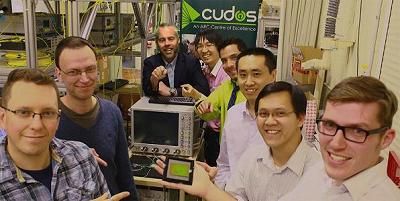 The CUDOS research team at the University of Sydney.