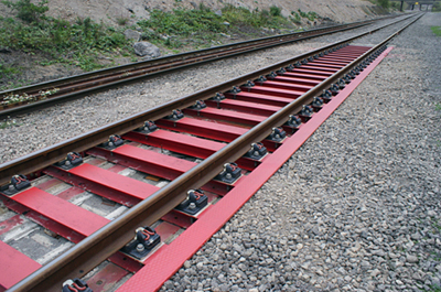 Smart track: Innovative steel-track construction prototype by Tata-Steel.