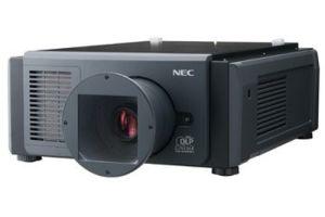 NEC laser projector