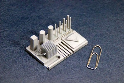 Printing metal parts with selective laser sintering
