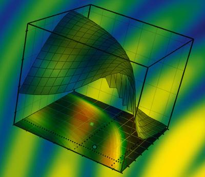 Fluorophore technique converts 2D data into 3D images.