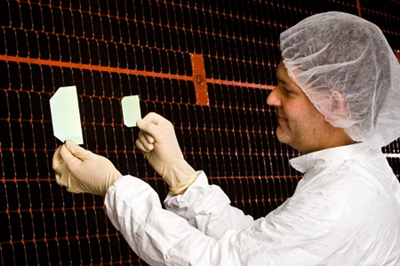 Multi-junction solar cells for space