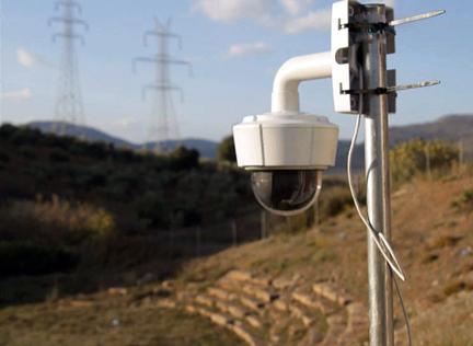 Infrared cameras can capture rises in temperature.