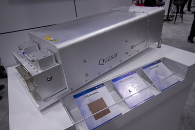 Quasar: Spectra-Physics' new hybrid fiber/solid-state laser