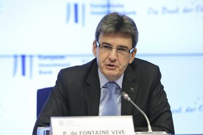 EIB vice president de Fontaine Vive