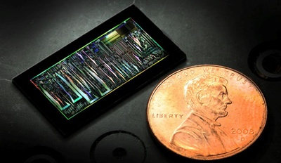 Disruptive? A silicon photonics circuit