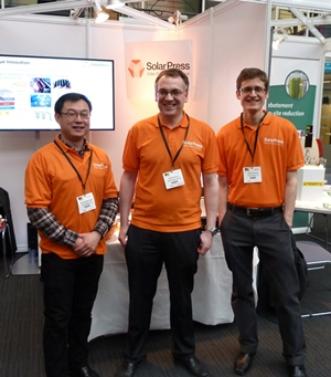 Solar Press team at Innovate UK