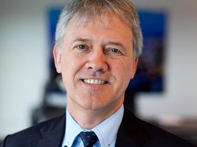 Stepping up: CFO Peter Wennink