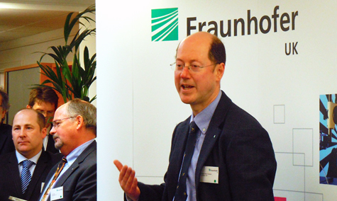 Opportunity: Professor Martin Dawson, Fraunhofer CAP's Head of Center.