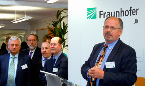 Innovation: Tim Holt, Executive Director of Fraunhofer UK Research.