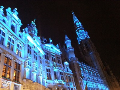 LEDs: lighting up Brussels