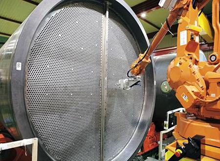 Hot stuff: Orbital aids manufacture of heat exchangers.
