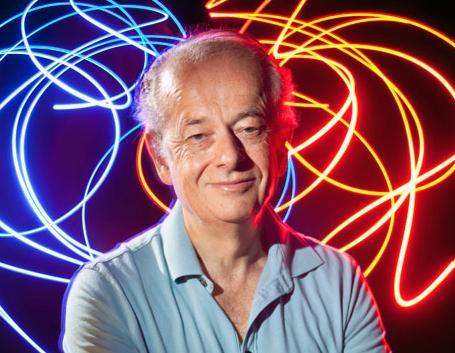 SPIE Gold Medal award winner: Harvard's Federico Capasso.