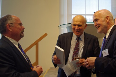 Vince Cable gets an SPIE tie