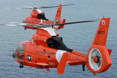 US Coast Guard: H-65 helicopters