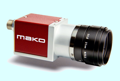 In the swim: AVT's Mako is an ultracompact MV camera.