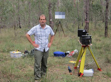 Tremendous development: Mark Danson in Australia.