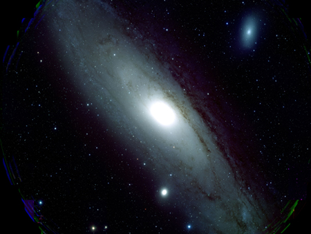 Galaxy M31 captured by Japan's Subaru Telescope's Hyper Suprime-Cam.