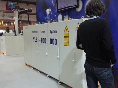 IPG's 100kW fiber laser