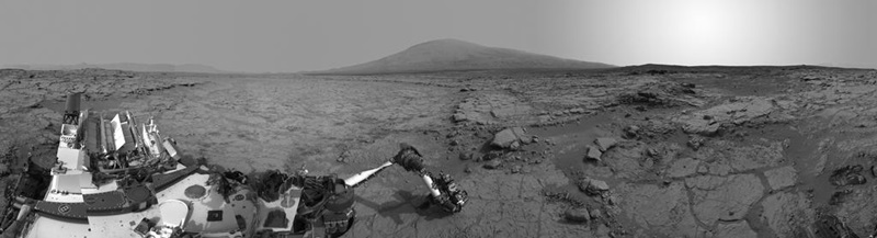 Heading for Mount Sharp