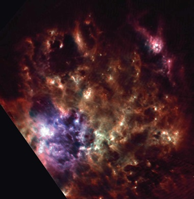 Star factory: AKARI's snapshot of the Tarantula Nebula