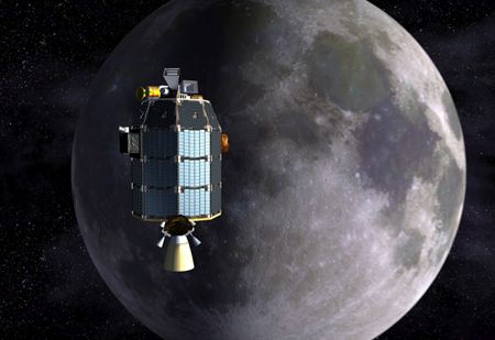 Lady Stardust: LADEE approaches lunar orbit.