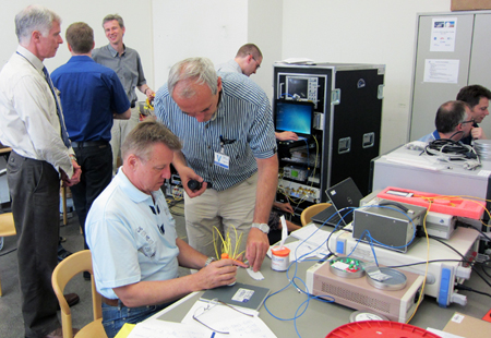 Testing of ESA's Lunar Optical Communication Link project went as planned.