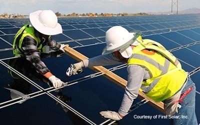 First Solar modules