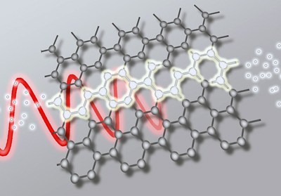 Versatile: graphene can convert light into electrical current.