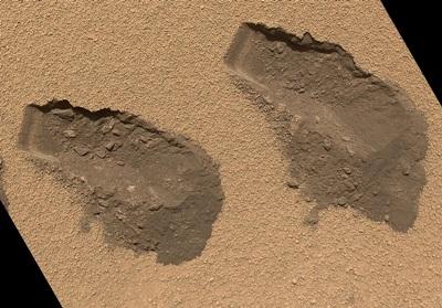 Mars: damp