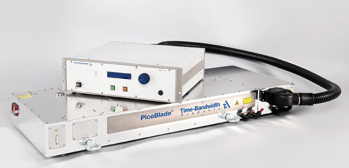 Machining applications: Time-Bandwidth Products' new PicoBlade ultrafast laser.