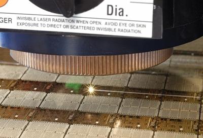 Laser dicing