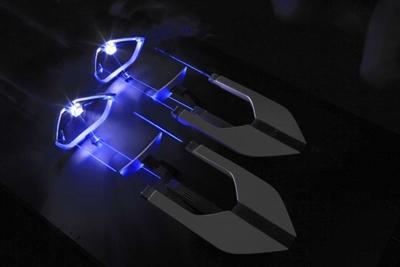 BMW's laser headlamp concept