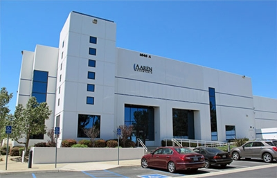 Aaren's Ontario, CA, headquarters