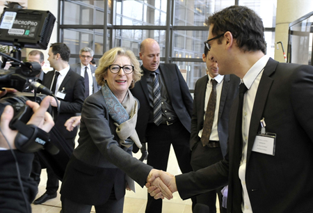 Geneviève Fioraso, France's Research Minister.