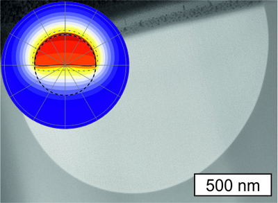 A single crystal-like silicon core fiber.