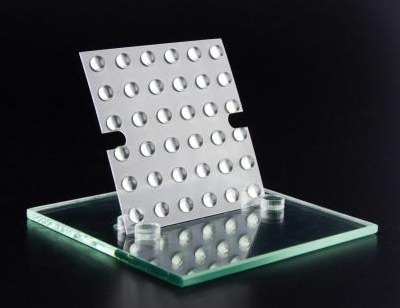 LUXeXceL's 3D additive process can make optical components.