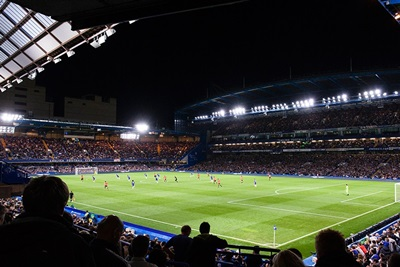Chelsea's LED floodlights