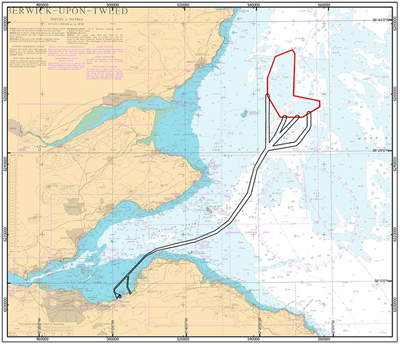 The proposed wind farm is to be located 17km off the Angus coast of Scotland.