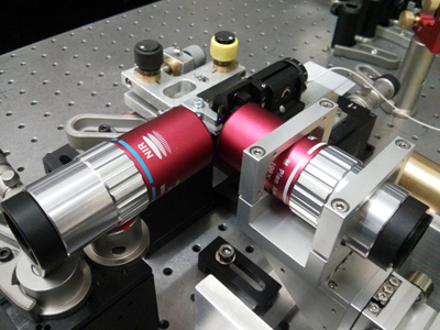 Southampton's ultrafast photomodulation spectroscopy technique.