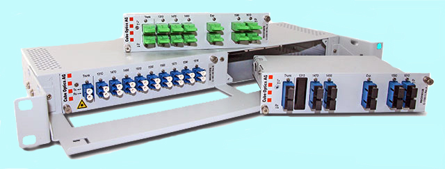 Cube Optics' CWDM Network-Cubes are flexible plug-and-play network solutions.