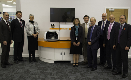 The Queen's Award for Enterprise was granted for Renishaw's
