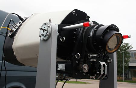 Air power: DTU Wind Energy WindScanner.