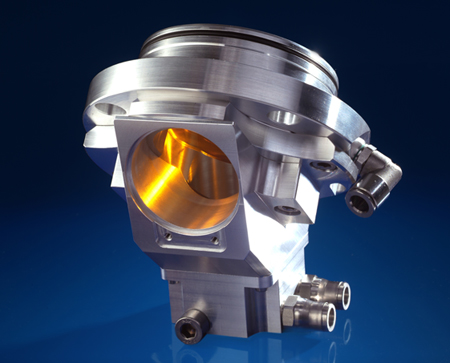 Zinc selenide beam coupling device for laser processing observation.