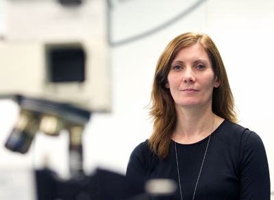 Faulds and her team have developed a new photonics-based test for meningitis.