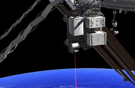 Calling Earth: Artist's impression of Optical Payload for Lasercomm Science.
