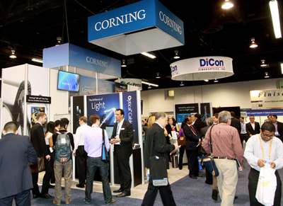 Corning sponsored the Outstanding Student Paper competition.