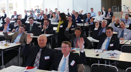 EPIC members at recent AGM vote to approve annual Day Of Photonics.
